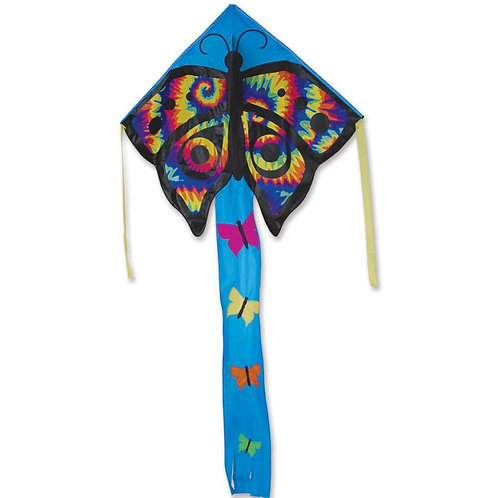 TIE DYE BUTTERFLY LARGE EASY FLYER KITE