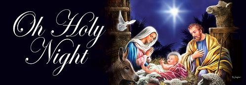 HOLY NIGHT SIGNATURE SIGN