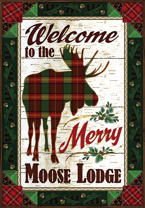 MERRY MOOSE FLAG
