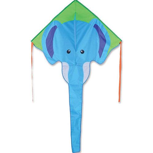 BLUE ELEPHANT LARGE EASY FLYER KITE