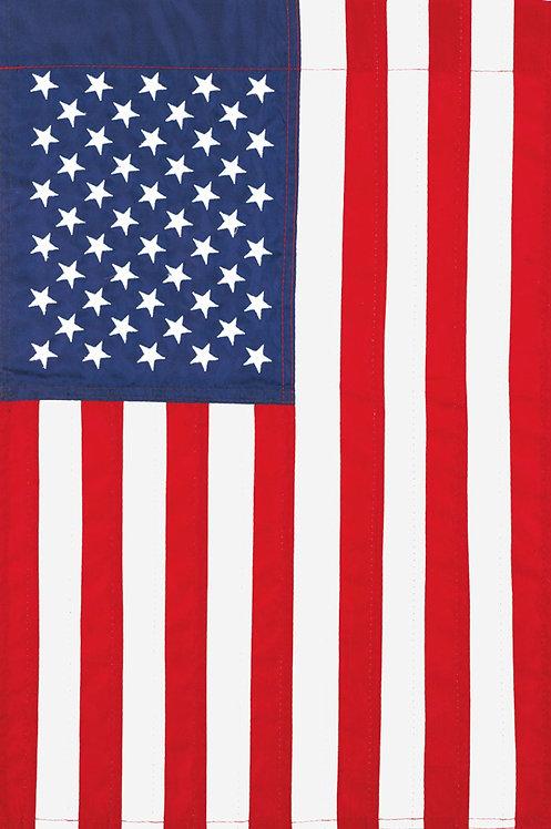 AMERICAN FLAG LARGE APPLIQUÉ FLAG
