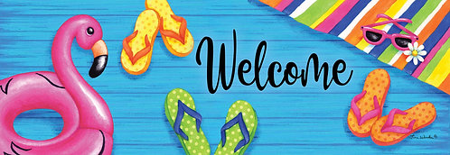 SUMMER WELCOME SIGNATURE SIGN