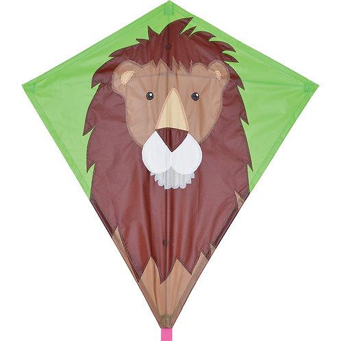 """30"""" LEO LION DIAMOND KITE"""