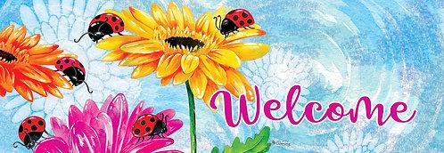 LADYBUGS & FLOWERS SIGNATURE SIGN