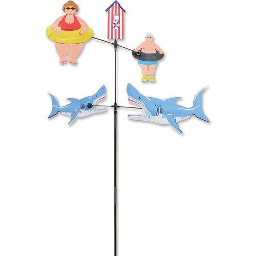 28in SHARK BAIT DOUBLE CAROUSEL SPINNER