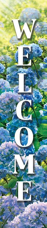 BLUE HYDRANGEA YARD EXPRESSION