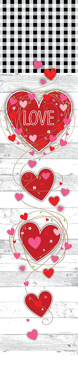 GINGHAM HEART YARD EXPRESSION