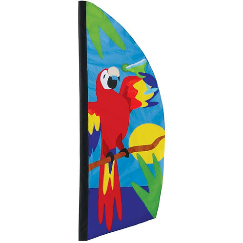 8.5ft PARROT PARADISE FEATHER BANNER