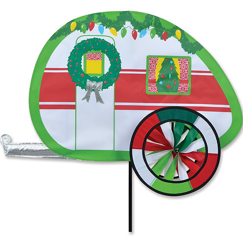 CHRISTMAS CAMPER SPINNER