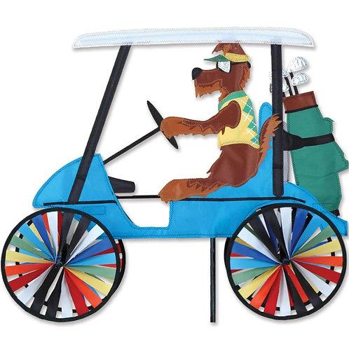 23in DOG GOLF CART SPINNER