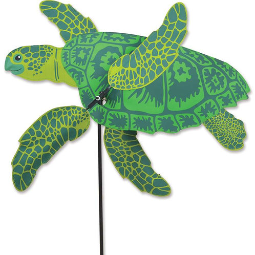 27in SEA TURTLE WHIRLIGIG SPINNER