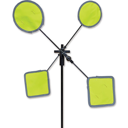 18in REFLECTIVE MARKER WHIRLIGIG SPINNER