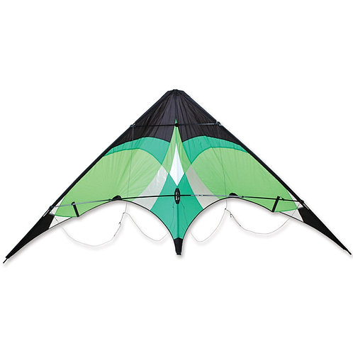 TRICK & TRACK SPORT KITE - LIME GREEN