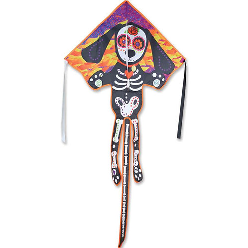 DAY OF THE DEAD / DOG LARGE EASY FLYER KITE