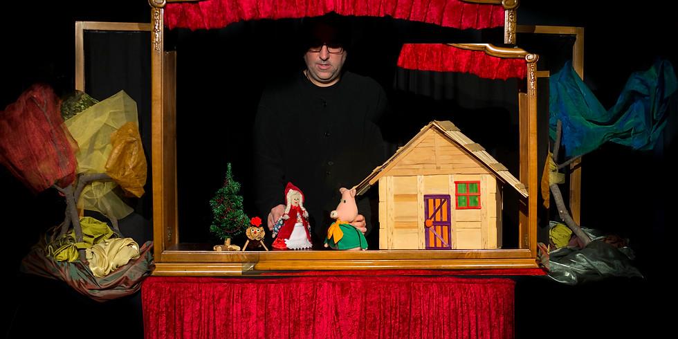 Els Tres Porquet i la caputxeta Celebren el Nadal