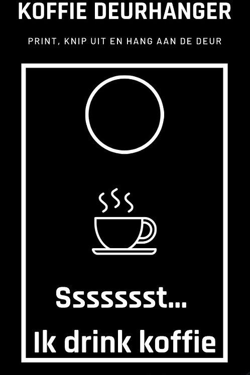 Koffiedeurhanger
