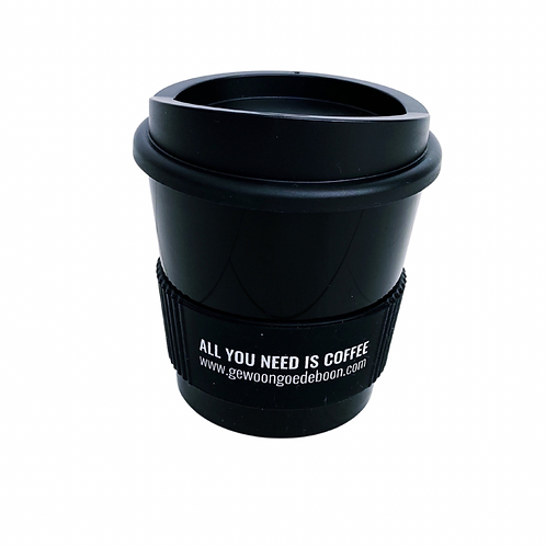 Koffie to-go beker (choose to re-use cup) 250 ml