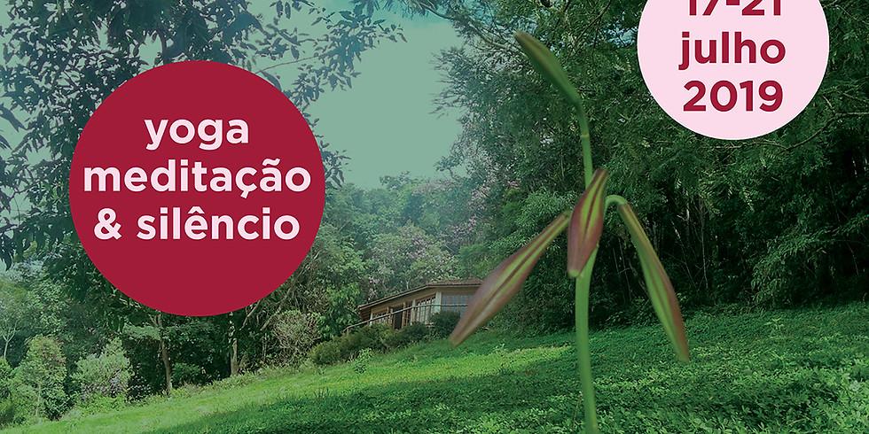 Retiro de Yoga e Meditação com Sandro Bosco