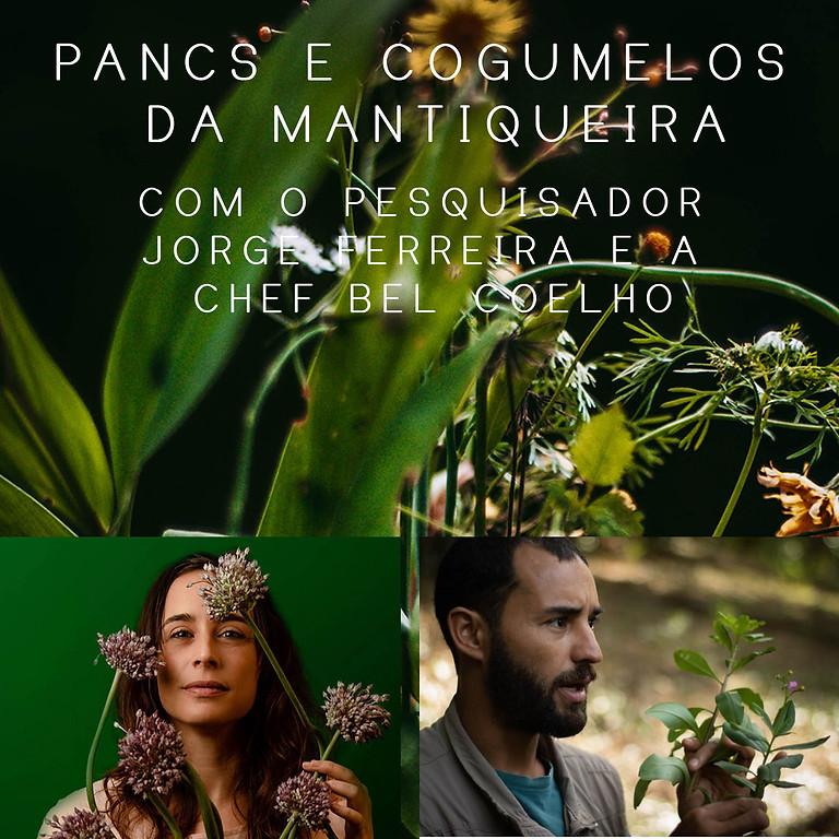 Pancs e Cogumelos da Mantiqueira - com Jorge Ferreira e Bel Coelho