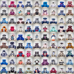 81 Memory Bears every one unique