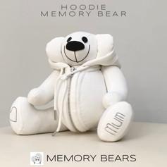 White Hoodie Memory Bear video