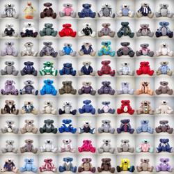 81 different memory bears.JPG