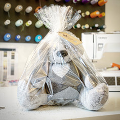 memory bear in wrapping