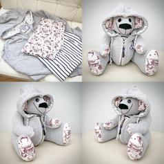 Memory Bear with Hood