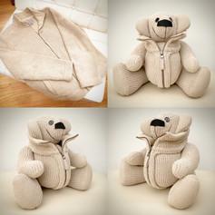 Cardigan Memory Bear