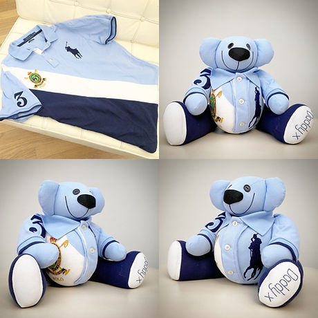 memory-bear-made-from-a-blue-polo-shirt.
