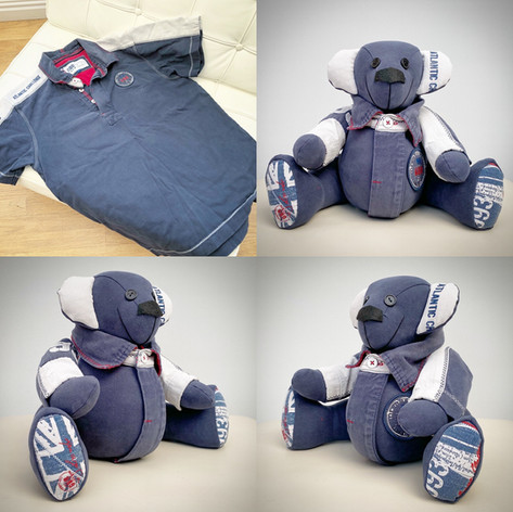 Polo Shirt Memory Bear