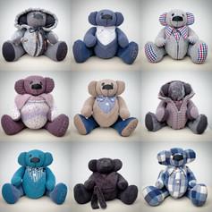 9 Memory Bears
