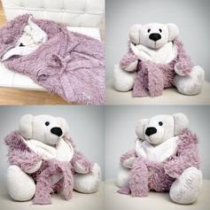 Dressing Gown Memory Bear