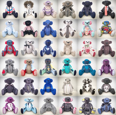 36 Memory Bears