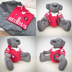 Football Shirt Memory Bear