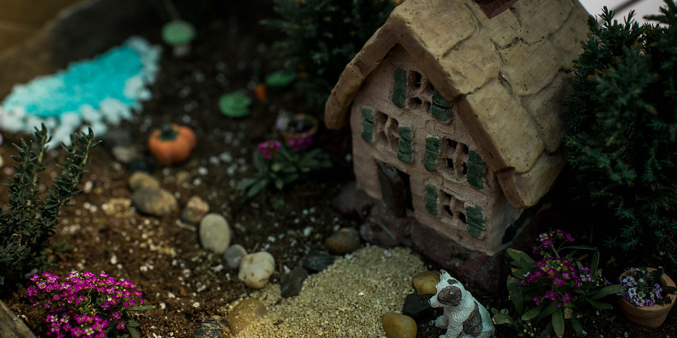 Fairy Garden Workshop   BY APPOINTMENT ONLY   OR PICK-UP YOUR WORKSHOP BUNDLE TO DO AT HOME