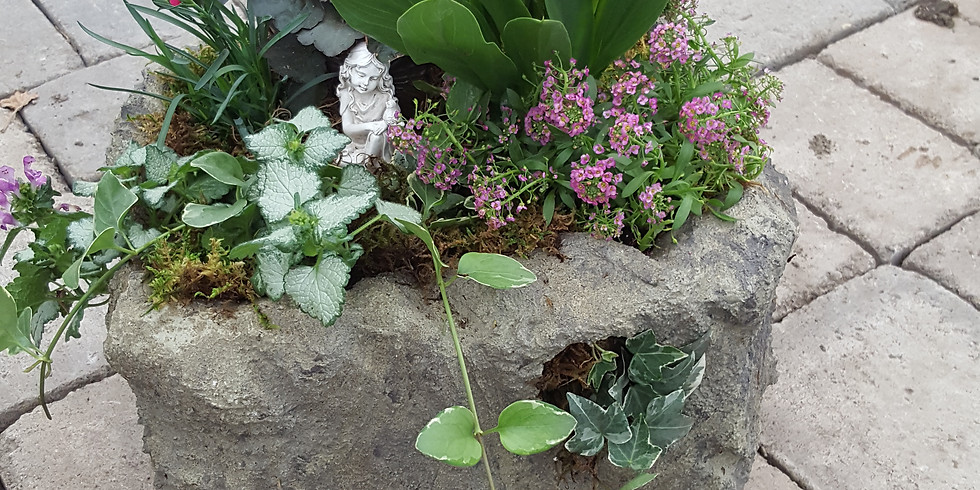 'Stone' Planter Workshop #2