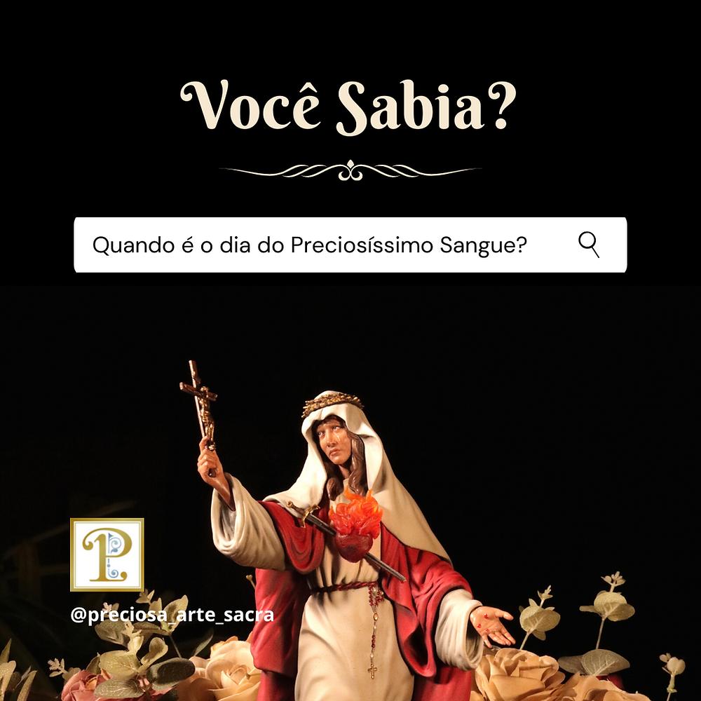 Imagem de Nossa Senhora do Preciosíssimo Sangue e das Criancinhas Abortadas