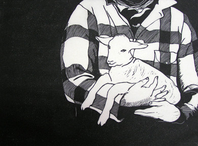 Carolyn Rhoads - Orphan Lamb.jpg