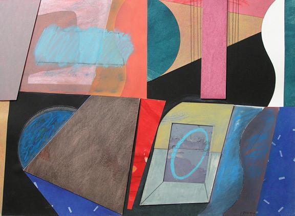 Carolyn Rhoads - Compartments of Memory.