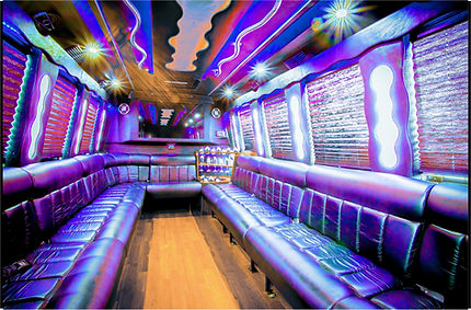 20 - PASSENGER PARTY BUS INTERIOR - 1-6-