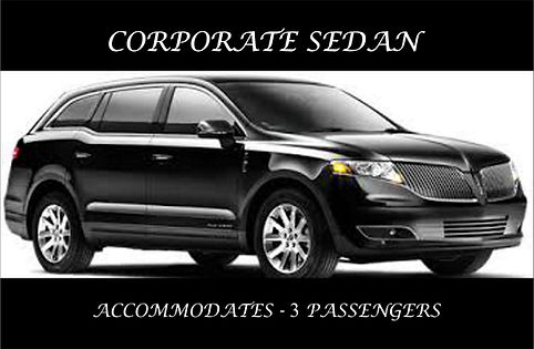 CORPORATE SEDAN EXTERIOR WITH DESCRIPTIO