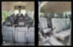 CORPORATE TRANSIT INTERIOR - SPLIT VIEW