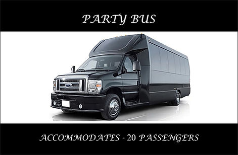 20 - PASSENGER PARTY BUS - EXTERIOR WITH