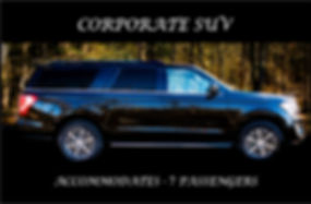 CORPORATE SUV EXTERIOR WITH DESCRIPTION