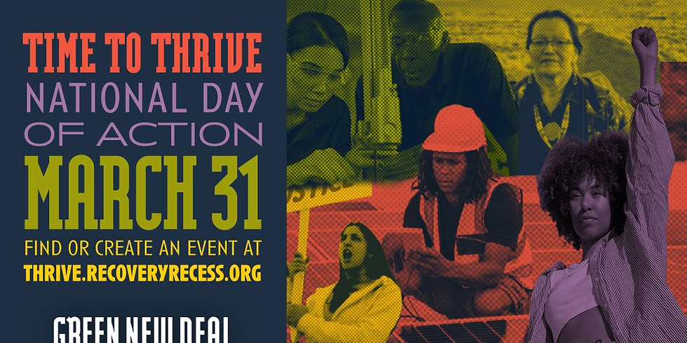 March 31st National Day of Action in support of the THRIVE Agenda
