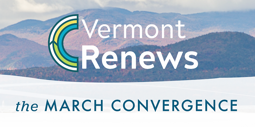 The Vermont Renews Convergence · Rights & Democracy