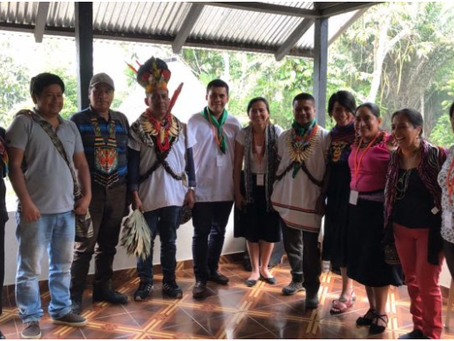 L4E student's invitation to support a Visionary Indigenous University in Colombia