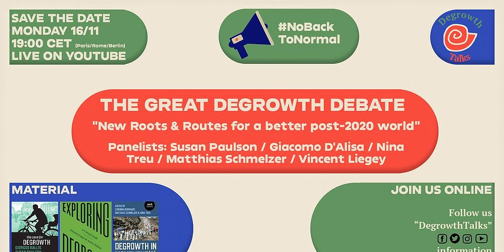 The Great Degrowth Debate