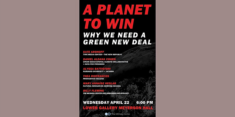 A Planet to Win: Why We Need a GND